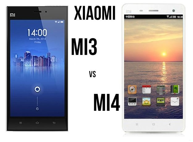 Xiaomi-Mi3-vs-Xiaomi-Mi4